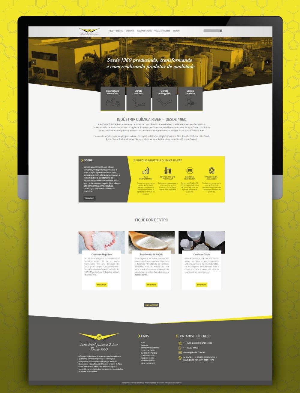 Criação de site moderno para empresas