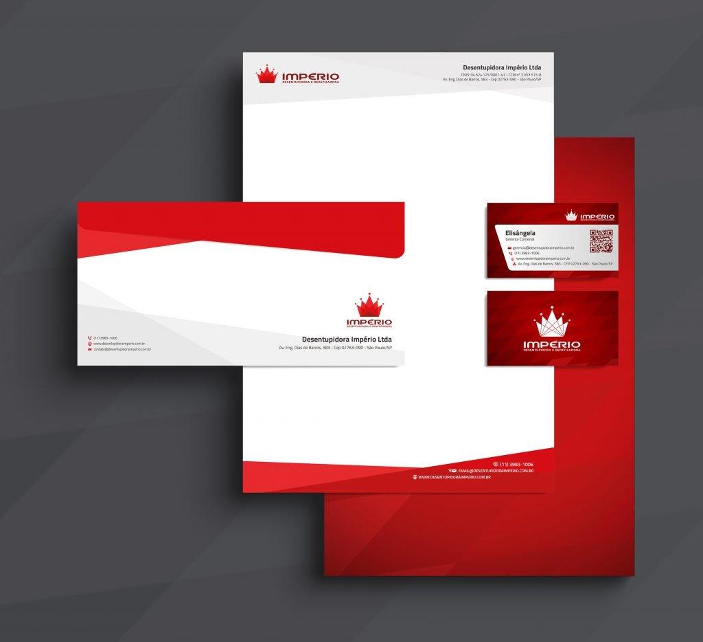 Design gráfico para empresa de desentupidora e dedetizadora