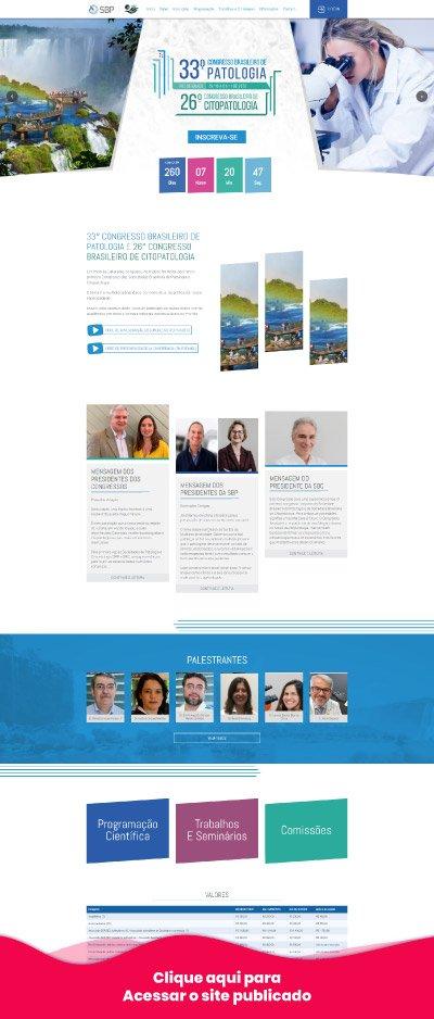 Site Congresso de Patologia